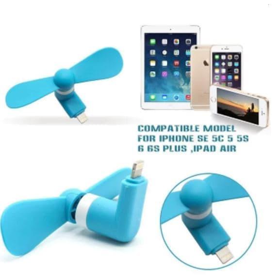 ... Kipas Angin Mini Usb Untuk Iphone 5.6 Mini Fan Langsung Ke HP ...