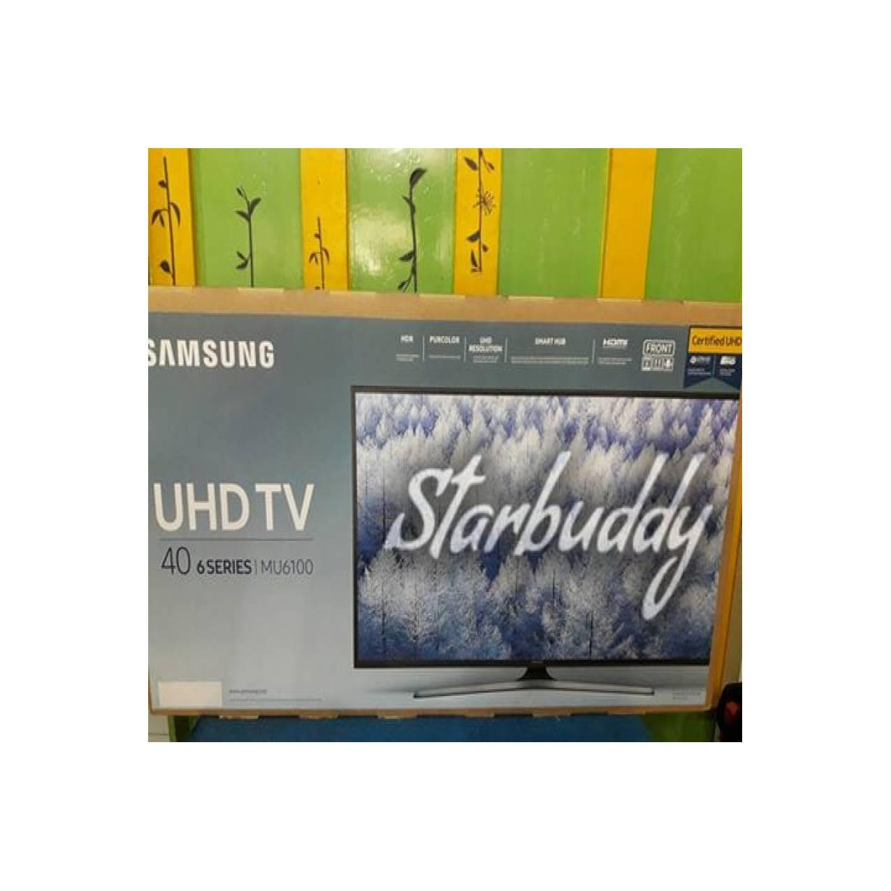 Samsung UA40MU6100 40 inch UHD 4K Certified HDR Smart LED TV