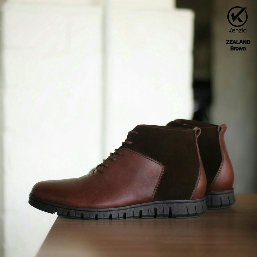 Sepatu Boot Safety Pria Reyl Original Bandung Kulit Sapi Asli Boot Boots Adidas Nike Casual Slip On