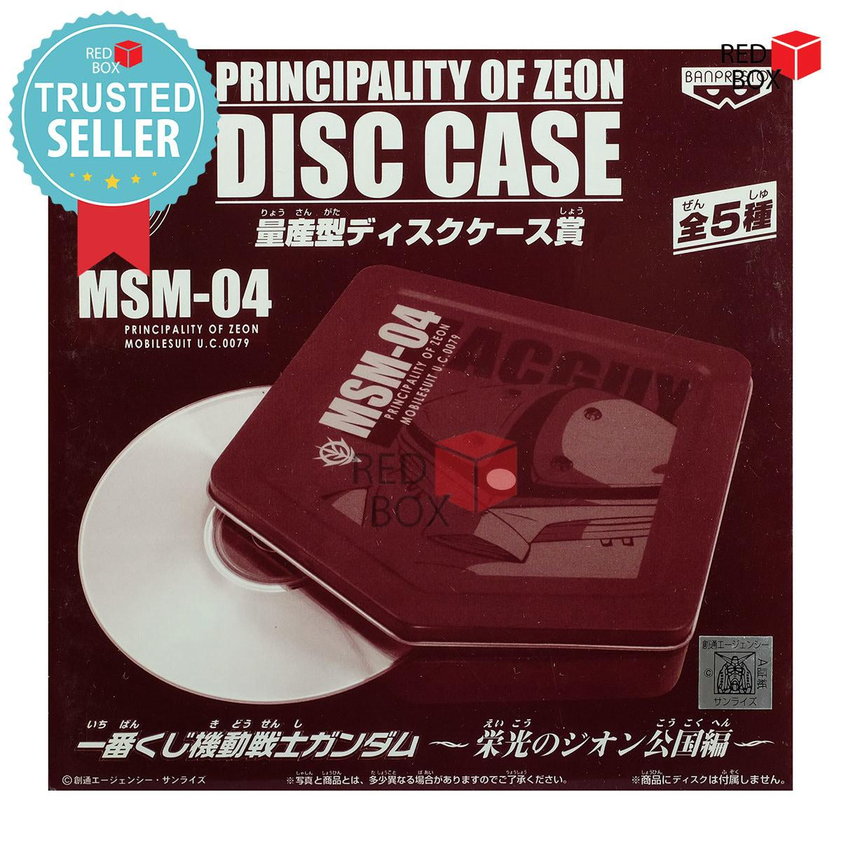 Termurah Mainan Koleksi Banpresto Acguy Disc Case - Ichiban Kuji Principality of Zeon Anime Cartoon
