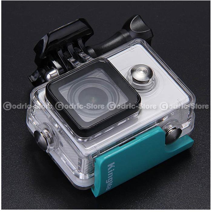 ... Xiaomi Yi Kingma Waterproof Back Door Lock Clip Replacement - Putih - 5