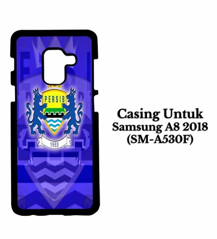 Casing SAMSUNG A8 2018 Persib Bandung 1 Hardcase Custom Case Se7enstores