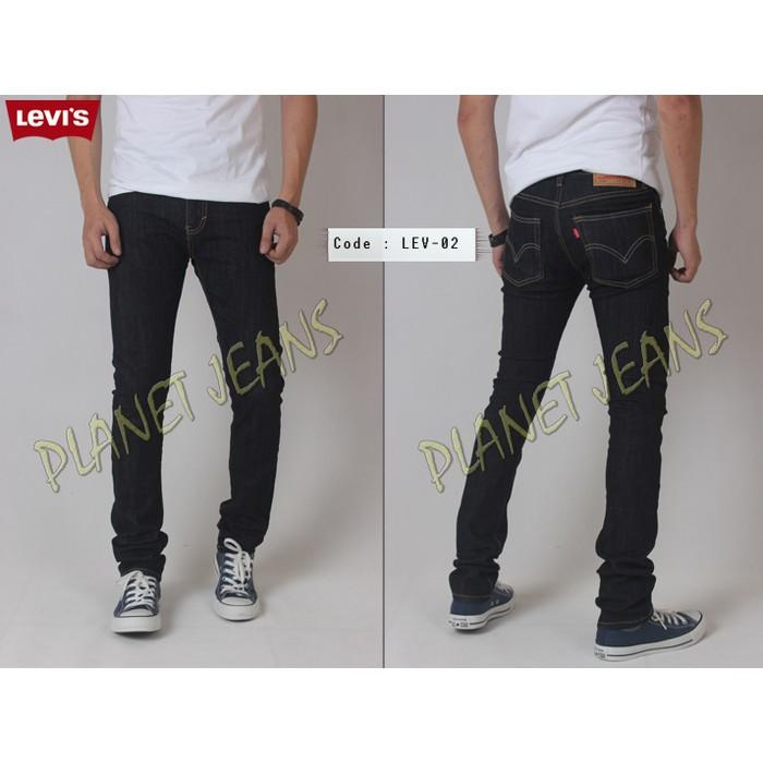Celana Jeans Denim Pria Cheap Monday-Ksubi-Levis-Zara Model Skinny Fit - Al3ghj