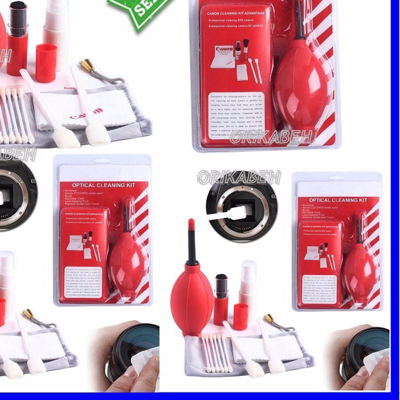 Cleaning Kit Canon / Pembersih Lensa Kamera Canon - Red ( orikabeh )