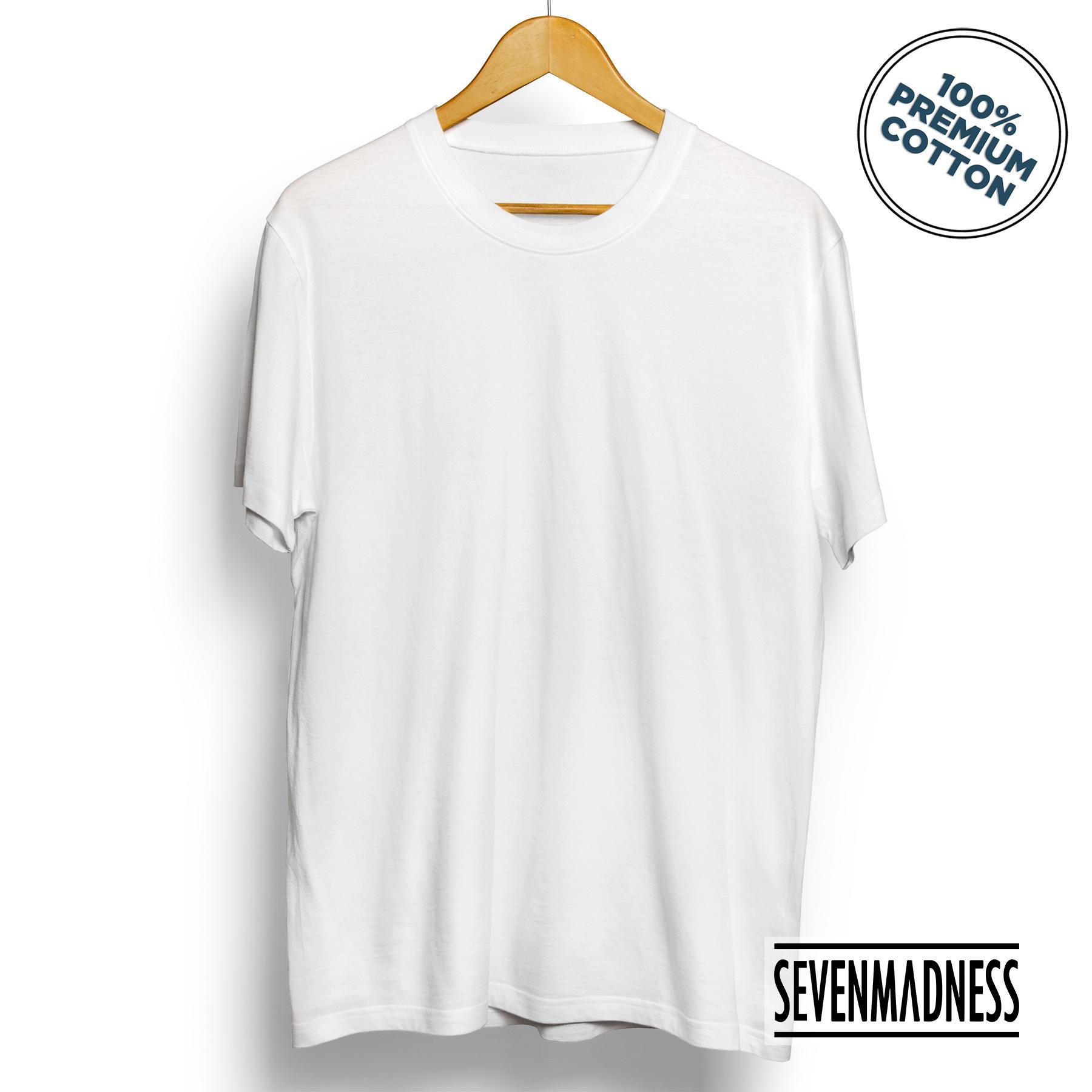 Kaos Polos Unisex Pria / Wanita - Premium Cotton Combed Tshirt
