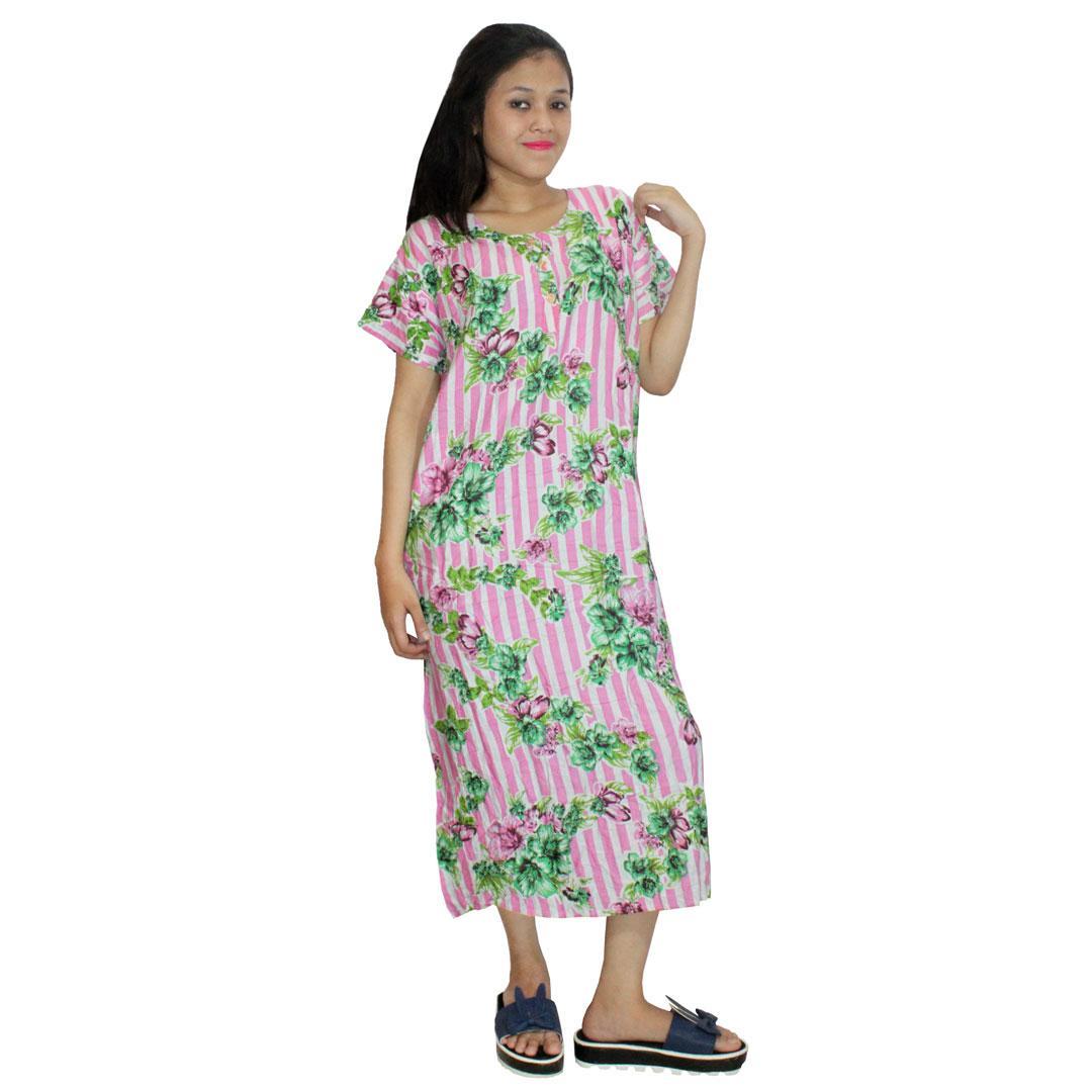 Sekdres Lengan 78 Jumbo Batik Cap Halus Pekalongan Baju Tidur Piyama ... 9e0723048b