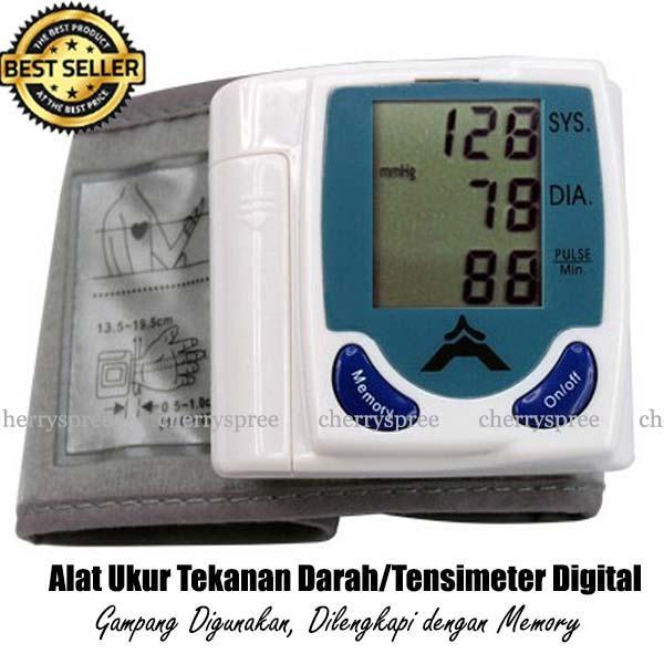 Taffware Alat Pengukur Tekanan Darah Digital Tensi Darah Monitor Blood Pressure Kesehatan Keluarga