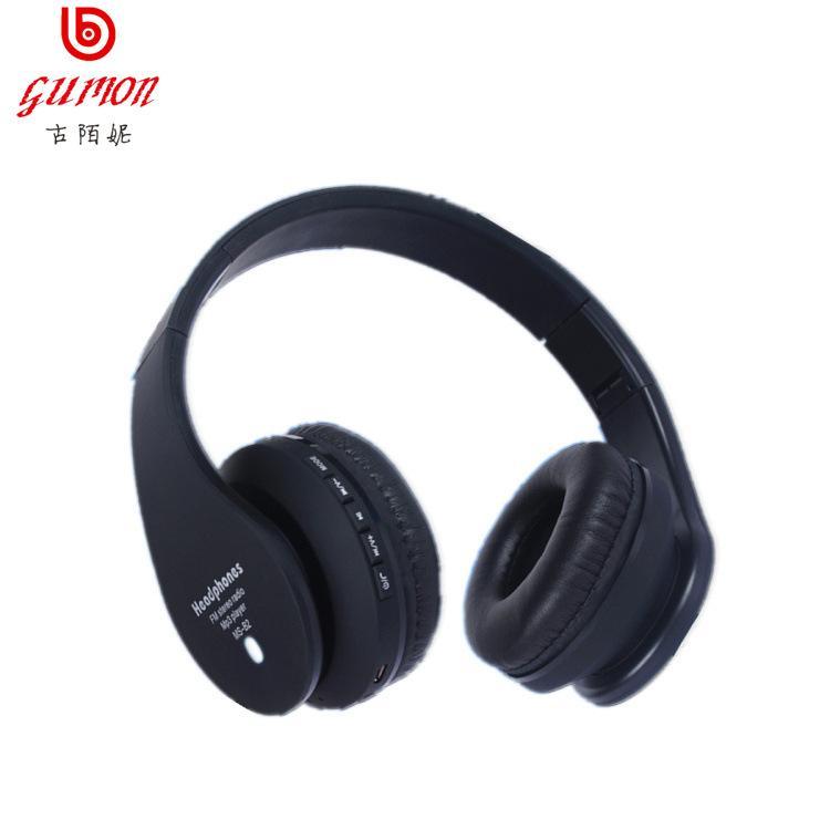 4 Warna Kuno Aneh Ni/Gumon Telinga Headset Lipat Nirkabel Headset Bluetooth Kartu Headset Ponsel