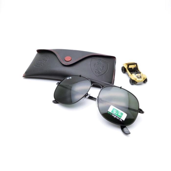 Kacamata / Sunglass Pria Rayray Ferrari R-3561 Fullset + Cairan