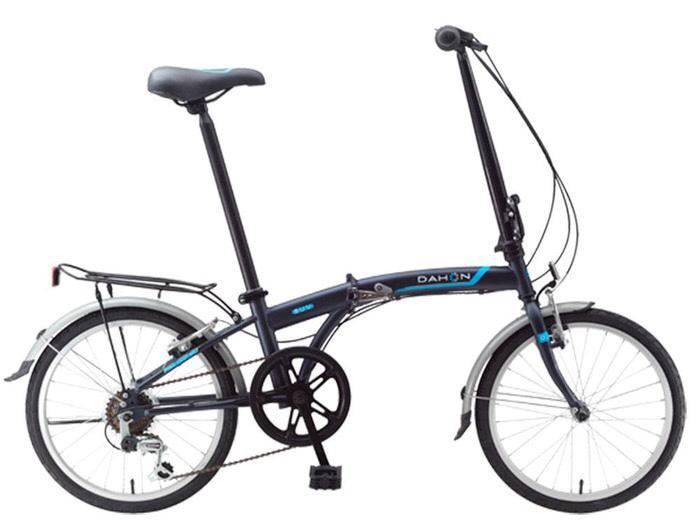 Sepeda Lipat Dahon SUV D6 Suede Blue - YA8ZZA