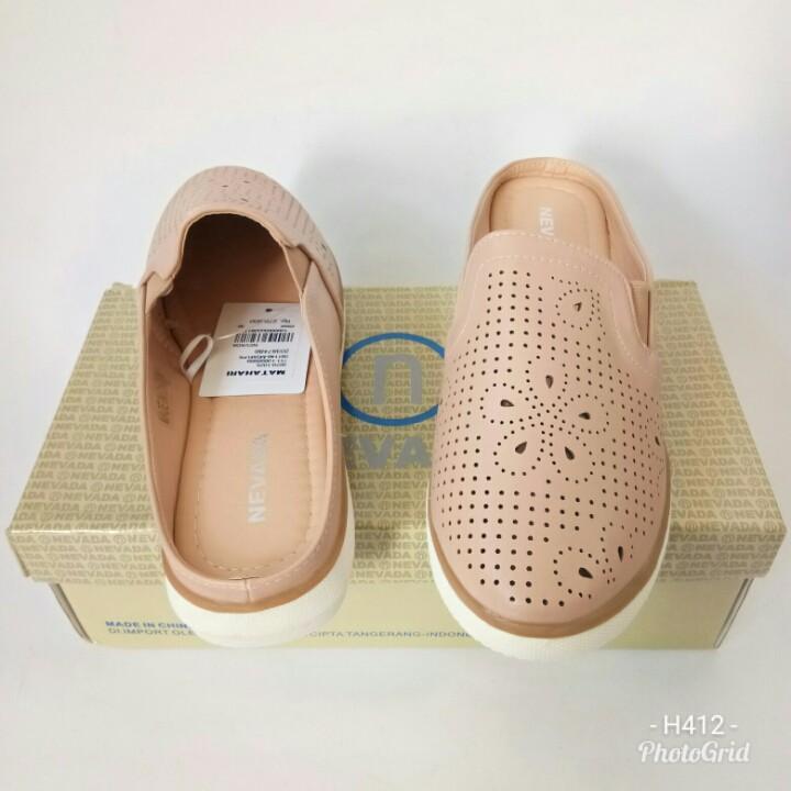 Sandal Slop Nevada MSM1PK7003 sandalwanita sandalslop sandalflat sandalcasual sandalbranded