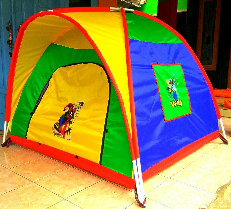 Tenda Anak anak Model Terbaru Tersedia Bermacam Ukuran Dan Warna Pilihan. Tenda Tempat Bermain Anak kecil