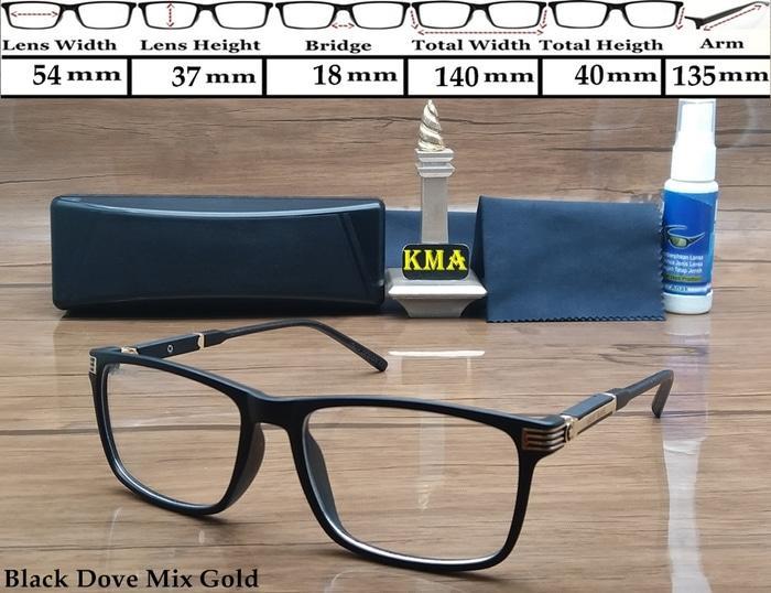 Frame kacamata minus MONT BLANC frame minus montblanc terbaru