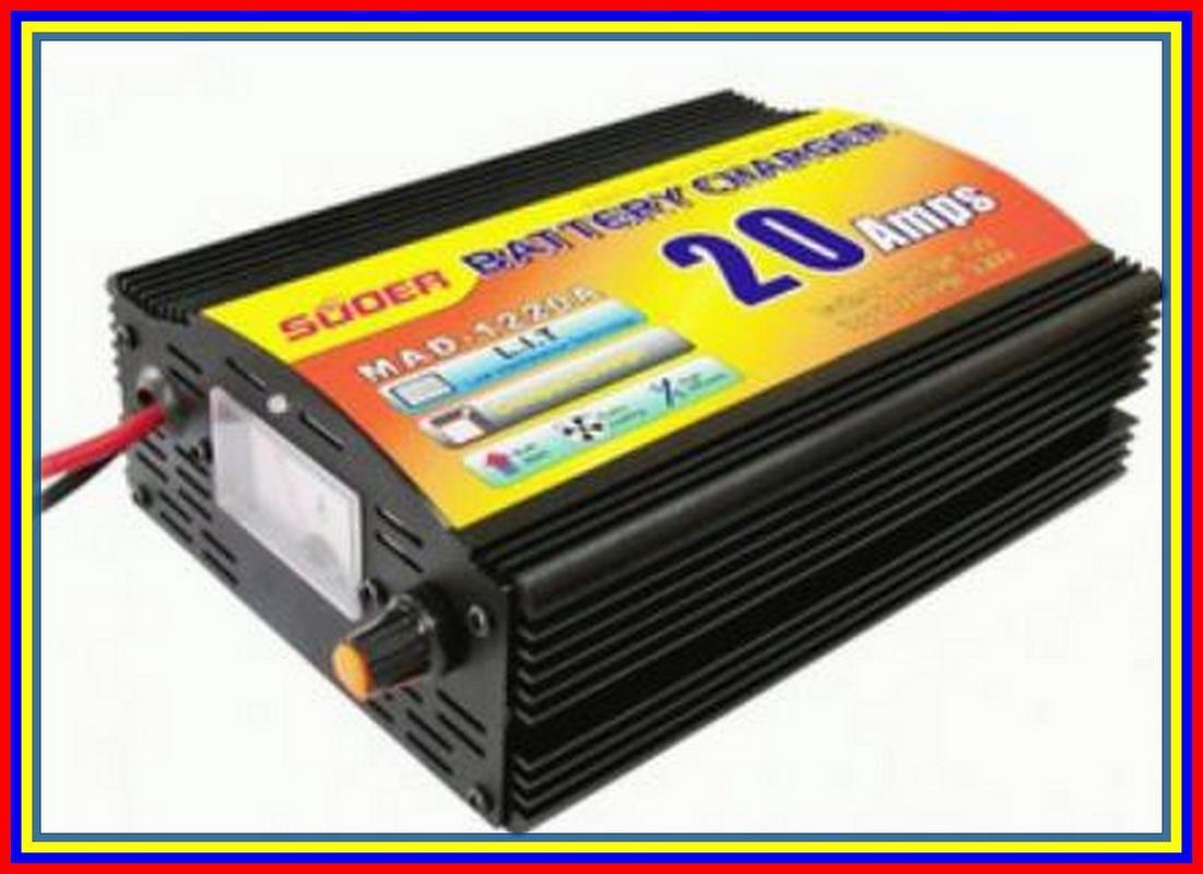 Accu Battery Charger Merk Suoer Kapasitas 20 Ampere