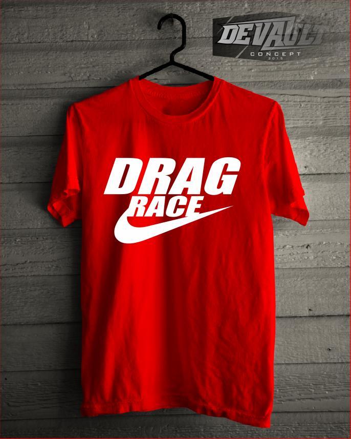 Kaos/T-Shirt Racing Drag Race Nike Version