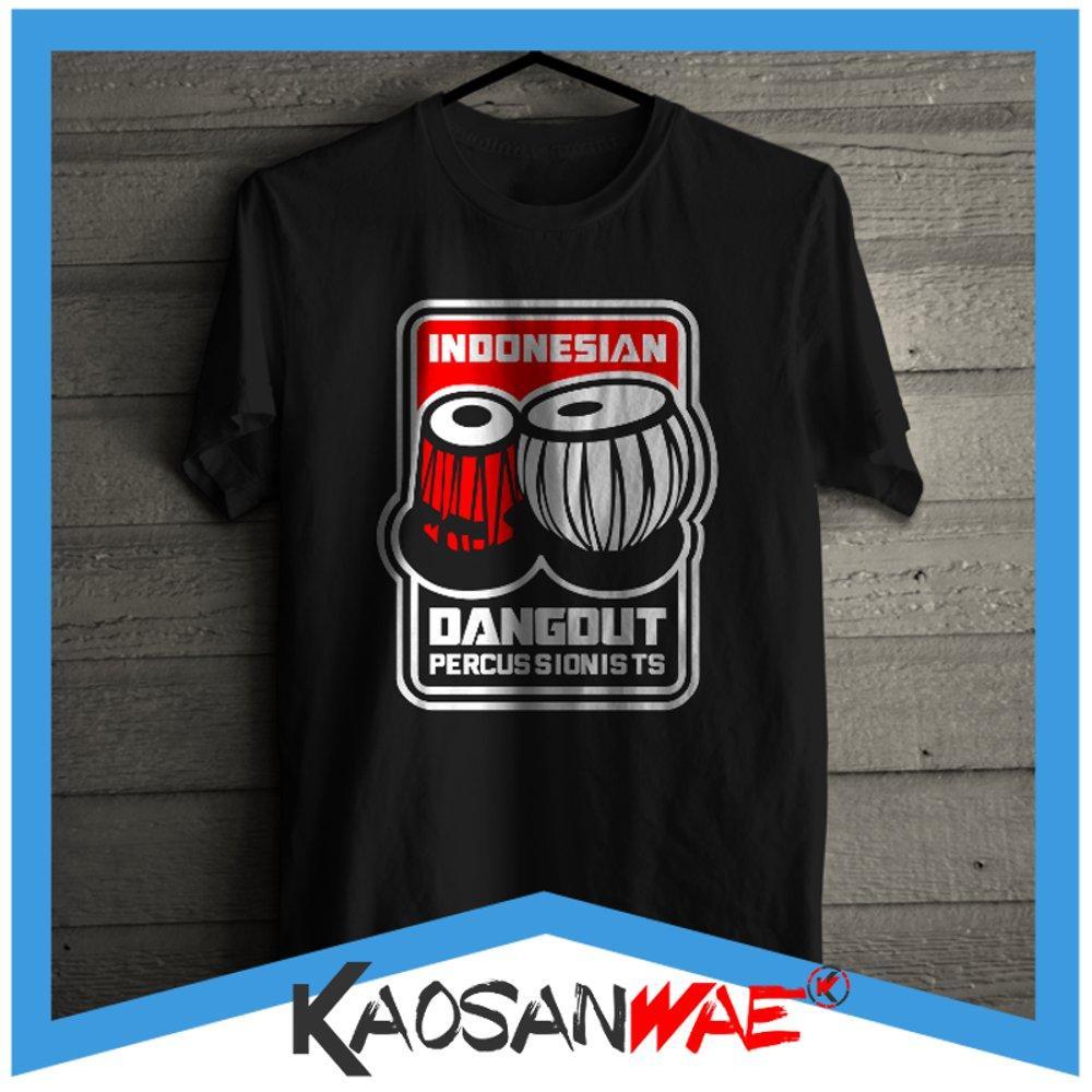 Kaos Indonesian Dangdut Percussionist Penabuh Gendang Tshirt Kaosanwae