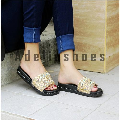 Adelioshoes - Sandal wedges jelly cantik / Sandal jelly ADL-1836