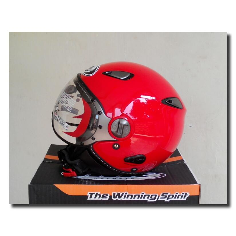 Helm KYT ELSICO RED FIRE