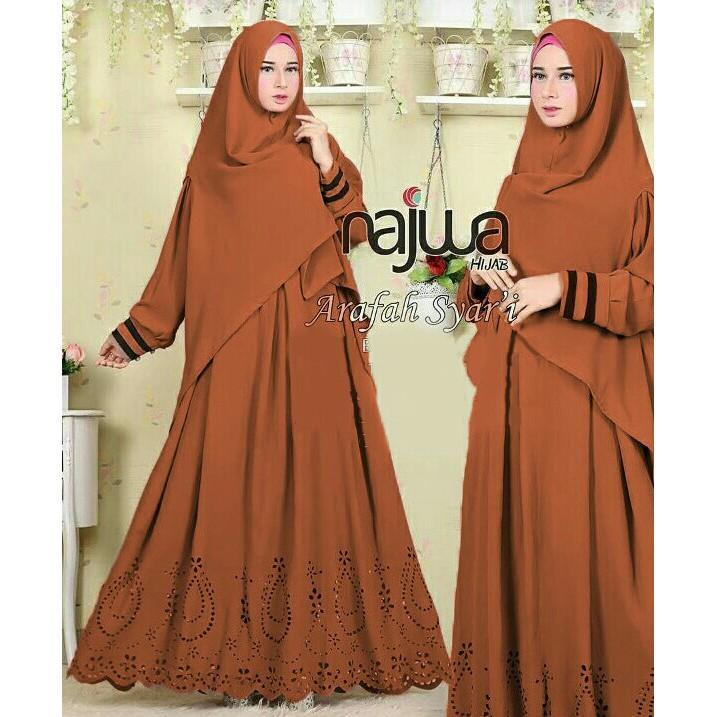 Vshop91jkt - Najwa Syari Maxi Polos gamis Polos Gamis Muslim Pakaian Muslim Baju Muslim Najwa Hijab Setelan Muslim Baju Setelan Muslim Pakaian Anak Muslim Syari Wanita Syari Dewasa Jumpsuit Muslim Dress Muslim Syari Anak Tunik Maxi India