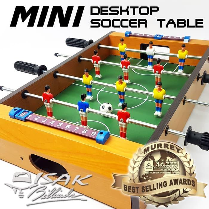 BEST SELLER!!! Mini Desktop Soccer Football Table - Mainan Hadiah Anak Meja Billiard - jcqeLZ