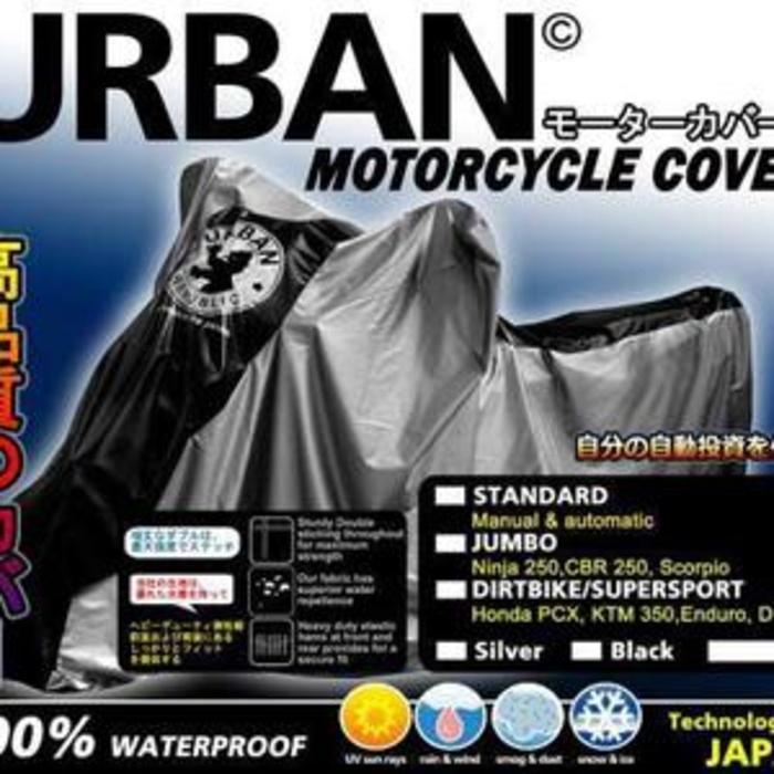 Cover / Sarung Motor Urban Jumbo (Motor Sport/Ninja/R25/CBR) . - 1eX9Ud