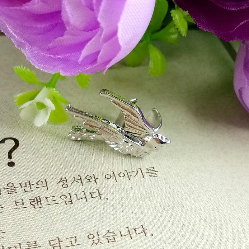 Anneui - EE0153 - anting jepit tanpa tindik gaul swag keren pria wanita kpop korea japan jpop