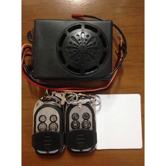 Alarm Sepeda Motor + 2 Remote Canggih Dan Bisa Pasang Sendiri - Motor