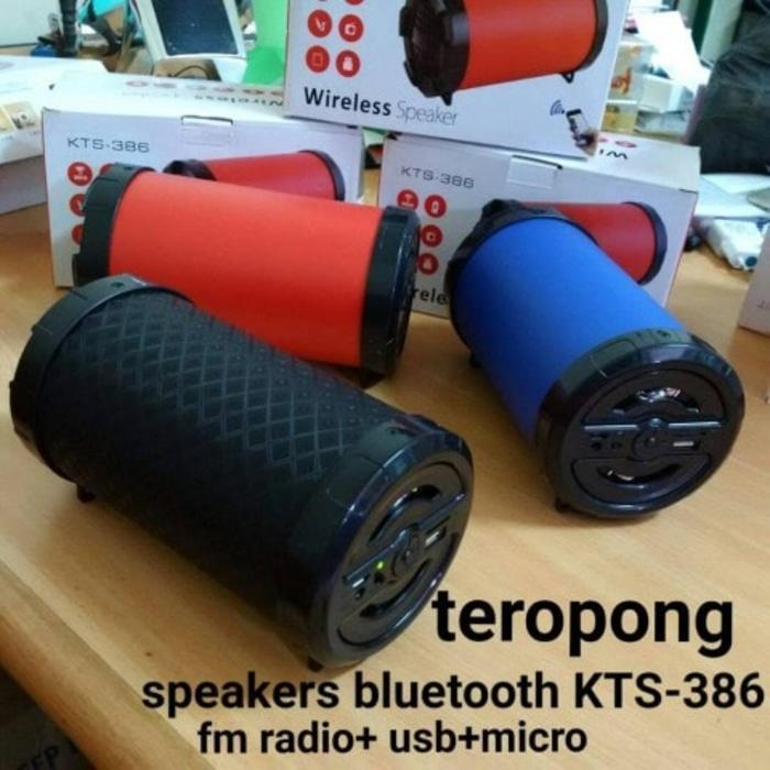 Referensi Speaker Bluetooth KTS-806 Model Tabung Murah / Speaker Hp / Radio speaker aktif / speaker laptop / speaker super bass