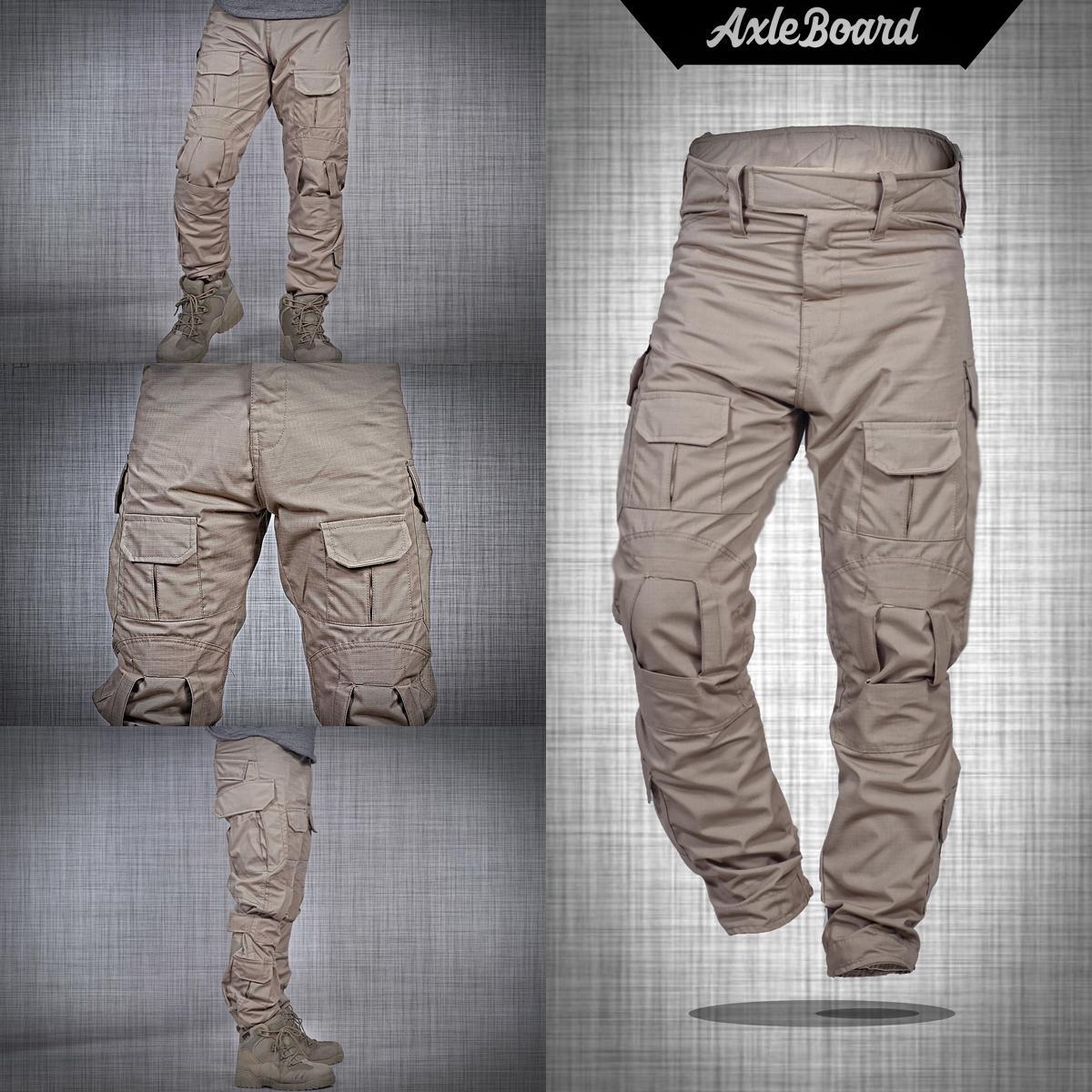 Celana panjang pria pdl army tactical 511 premium warna krem axlestore