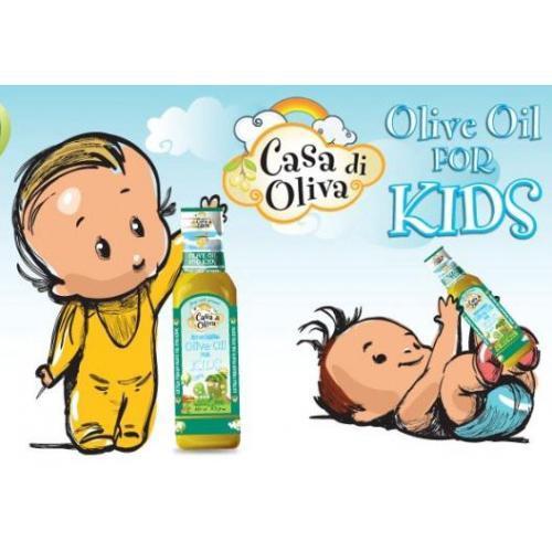Promo LJ691 EVOO Baby Casa Di Olivia Olive Oil Bayi Best Seller