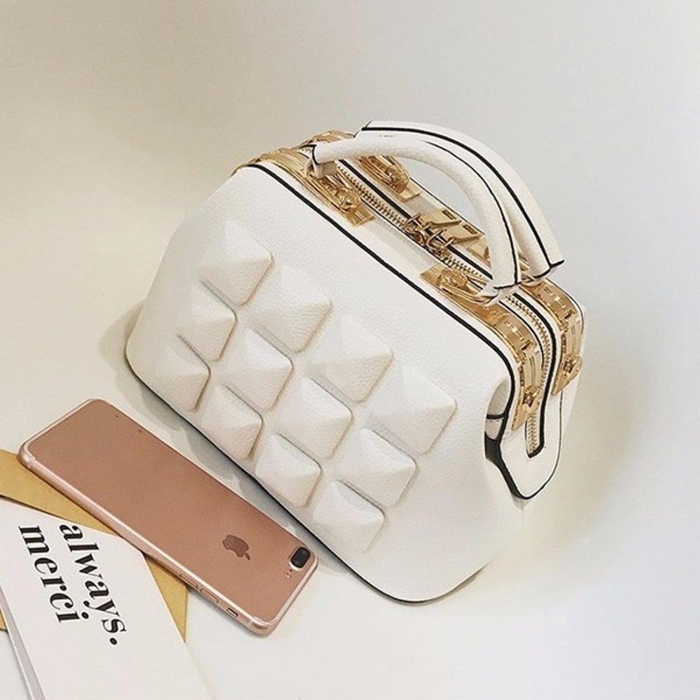 Tas Premium Korea / Tas Batam / Tas Impor / Import Original Handbag / Ori Bag / Tas Wanita - WHITE - EDW 207