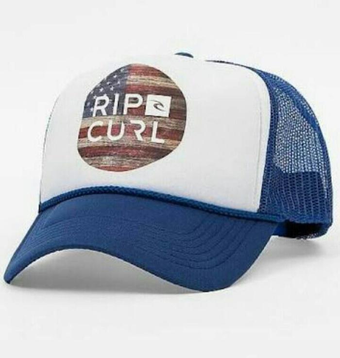 Topi / Cap / Hat Trucker Ripcurl 8.7 - Blue Terlaris di Lazada