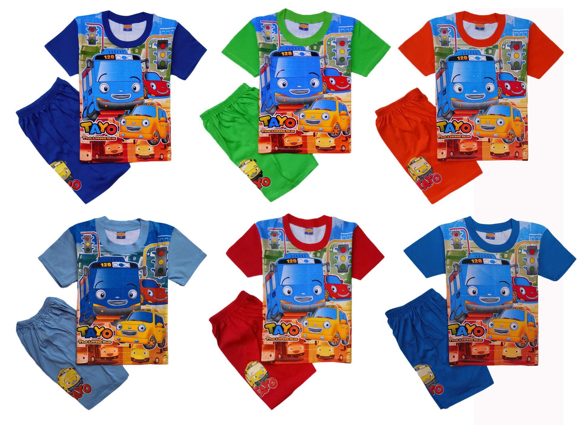 Promo Kaos Anak Baju Anak Tayo Little Bus 12 Pilihan Motif lazada