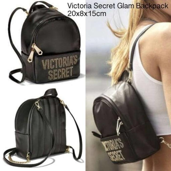 TAS RANSEL VICTORIA SECRET GLAM ORIGINAL - K071Bu