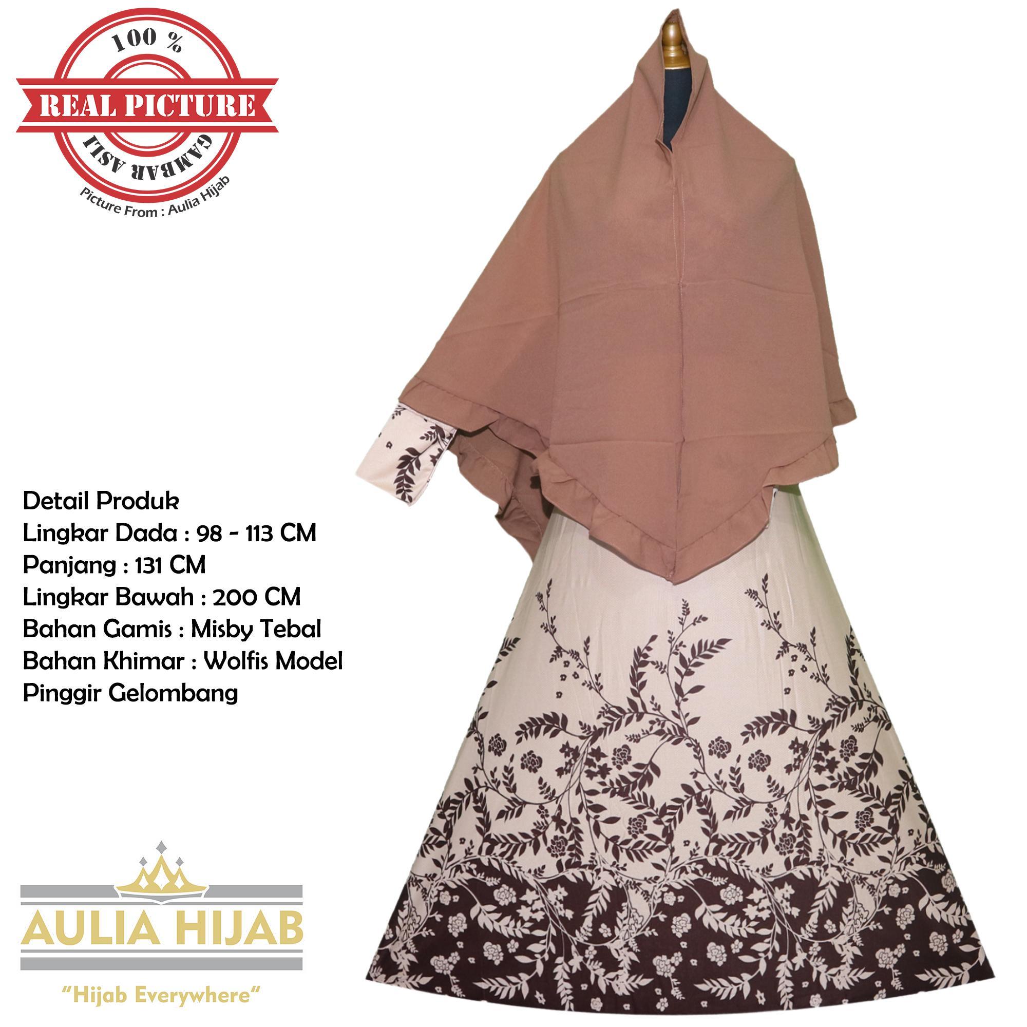 Aulia Hijab - New Najwa Syar'i/Gamis Syar'i/Gamis Misby/Gamis Wolfis/Gamis Laser/Gamis Murah/Gamis Terbaru/Gamis Jilbab/Gamis Plus Jilbab/Gamis Jilbab Panjang/Gamis Plus Khimar/Gamis Pesta/Gamis Cantik