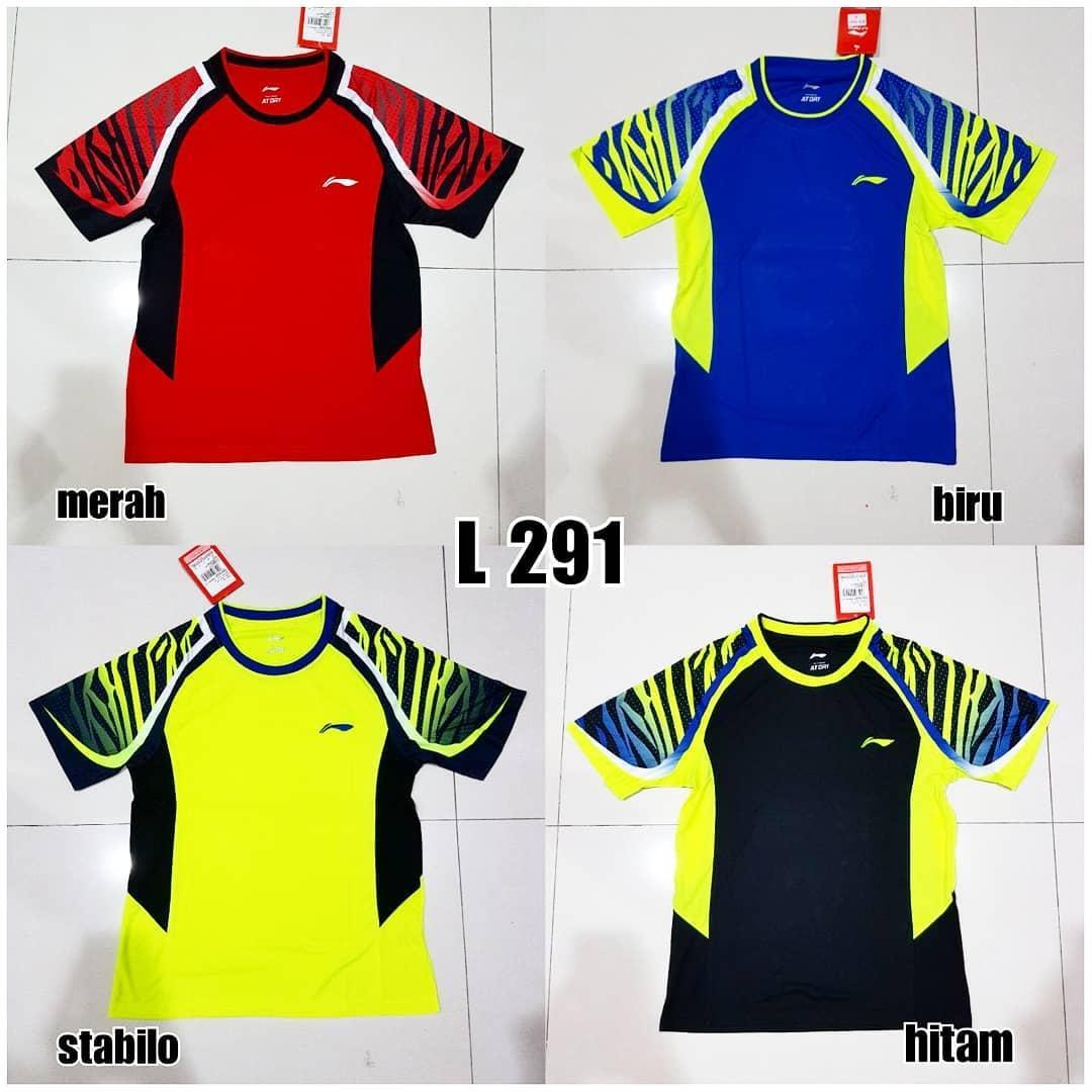 Baju Badminton Bulutangkis Lining L291