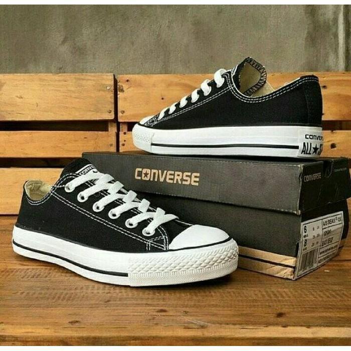 Sepatu sneakers converse allstar chuck taylor sepatu pria wanita kerja fashion keren termurah+BOK