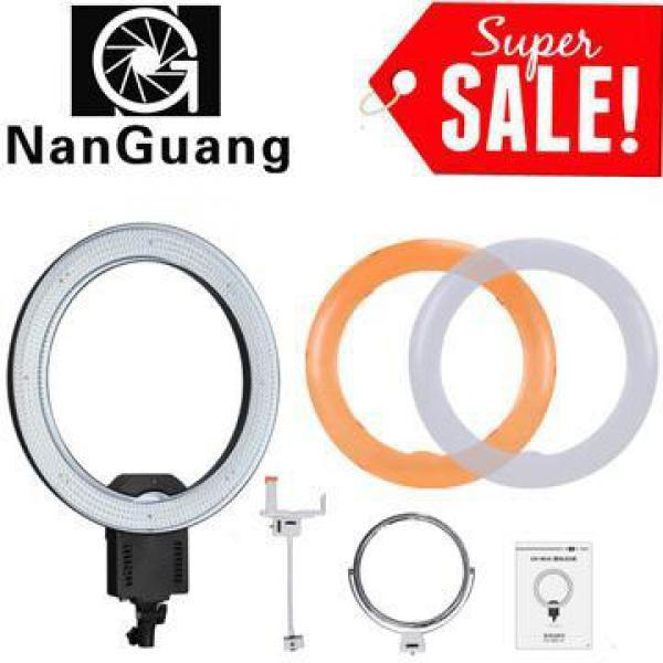 LAMPU LED RingLight NANGUANG CN-R640...5600K with Dimmer-beauty Photoshoop