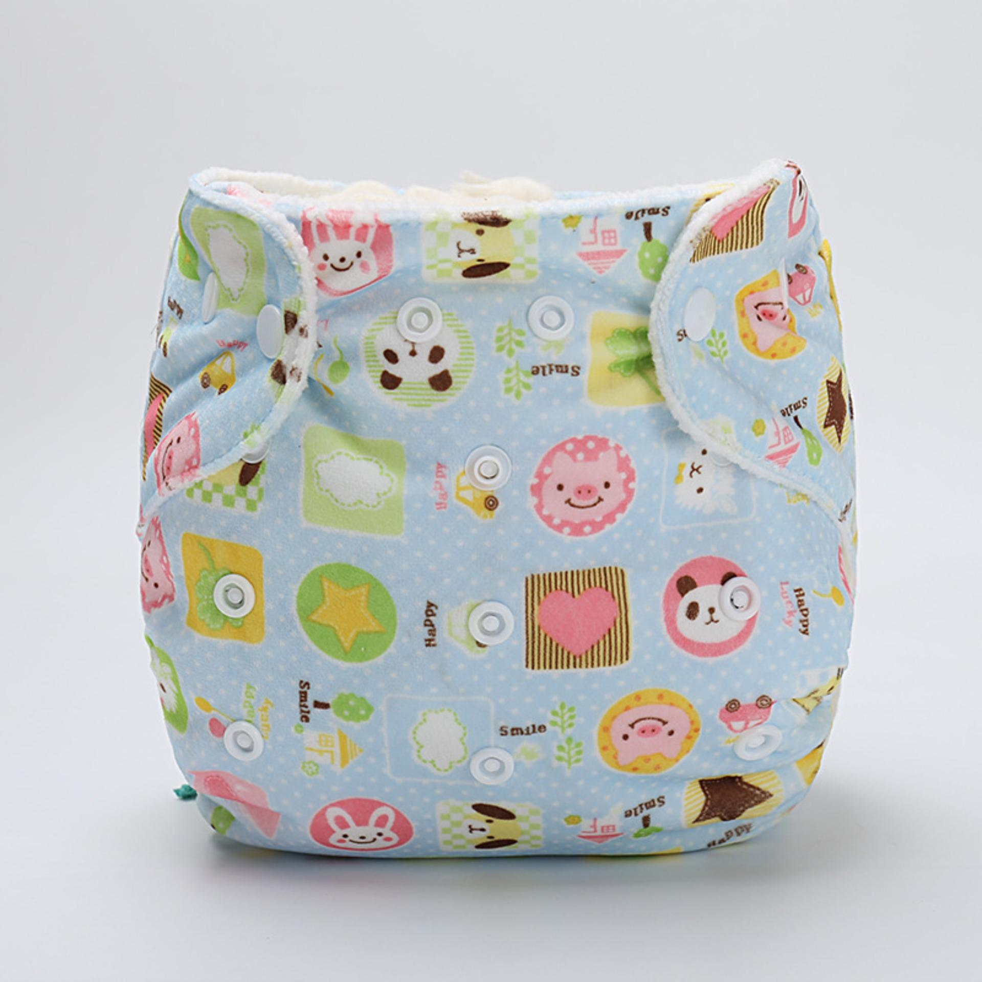 Clodi Bludru Import Naughty Baby Motif Plus Insert Microfibre Biru Popok Kain Bayi Babyland Snap Microfiber Cloth Diaper Pink Tree 1 Original