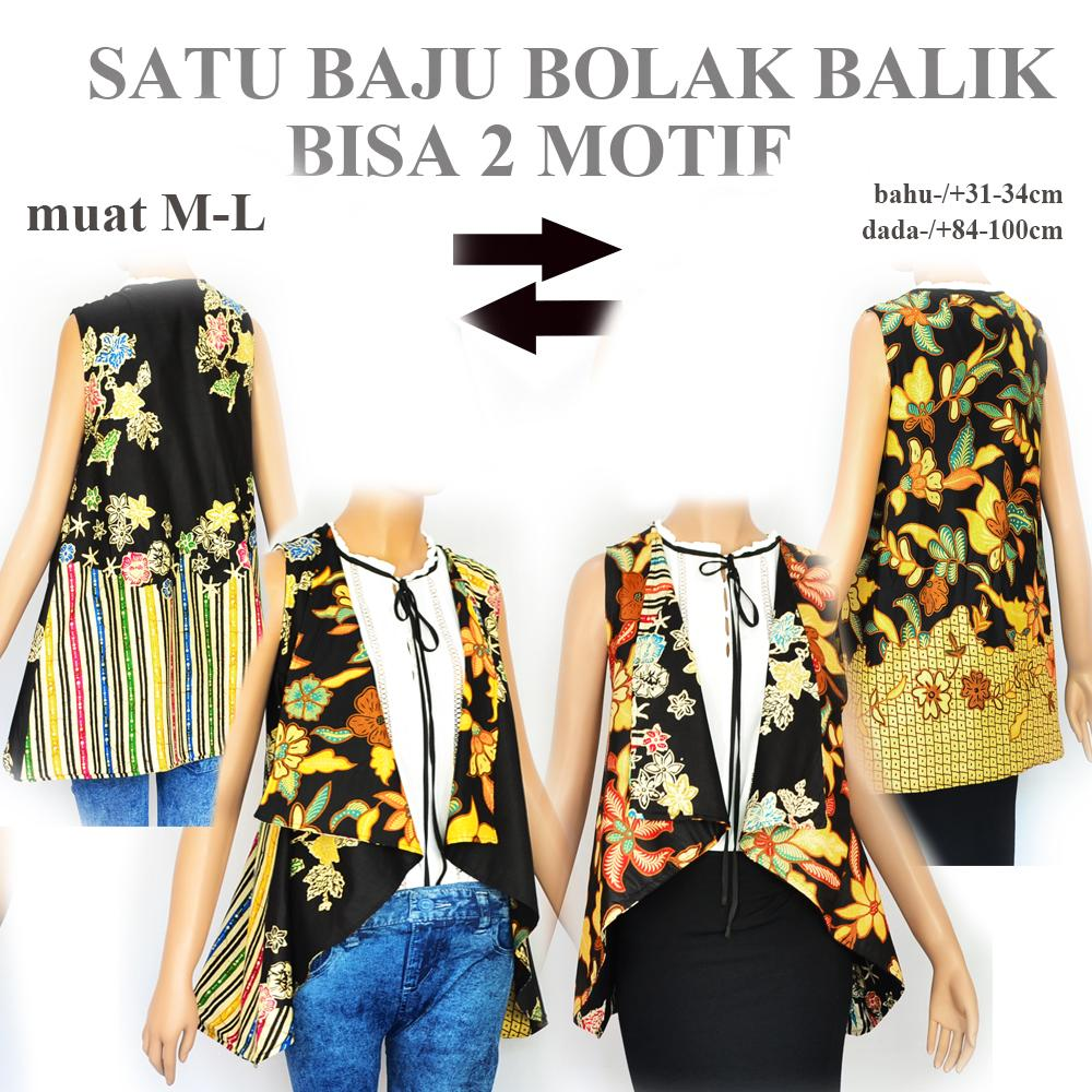 Blouse batik bolero batik outer batik wanita atasan batik A550