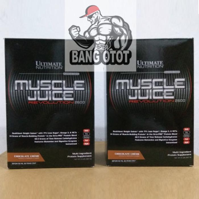 Muscle Juice Revolution 2600 / 2 Lbs (Box) Ultimate Nutrition - velGcU