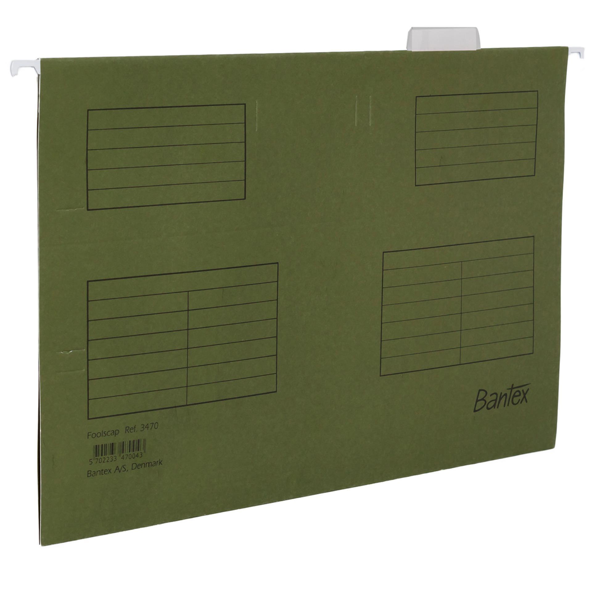 Bantex Map Gantung Suspension File F4 3470 Red 25 Pcs Cobalt Blue 1 Pc Hang Folio Green 04
