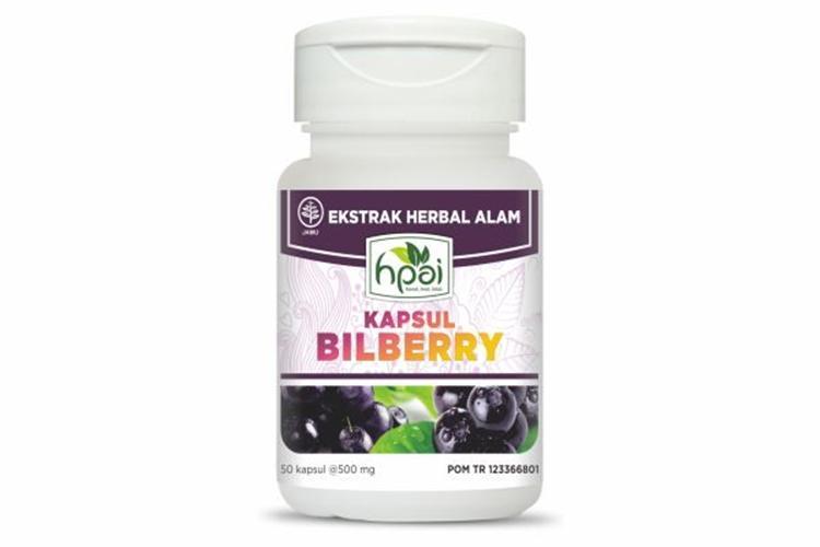 Bilberry Hpai Herba Alami Untuk Menjaga Fungsi Mata Mengobati Katarak Dan Meningkatkan Daya Pengelihatan - Toko Warna Warni