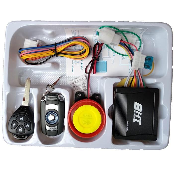 Alarm Motor Bonus Cara Pemasanggan Merk Bht 2 Remote - Dgnsg Dksjfbas