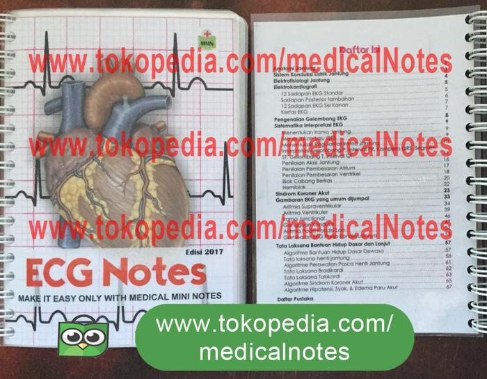 Buku Saku Kedokteran Medical Mini Notes EKG