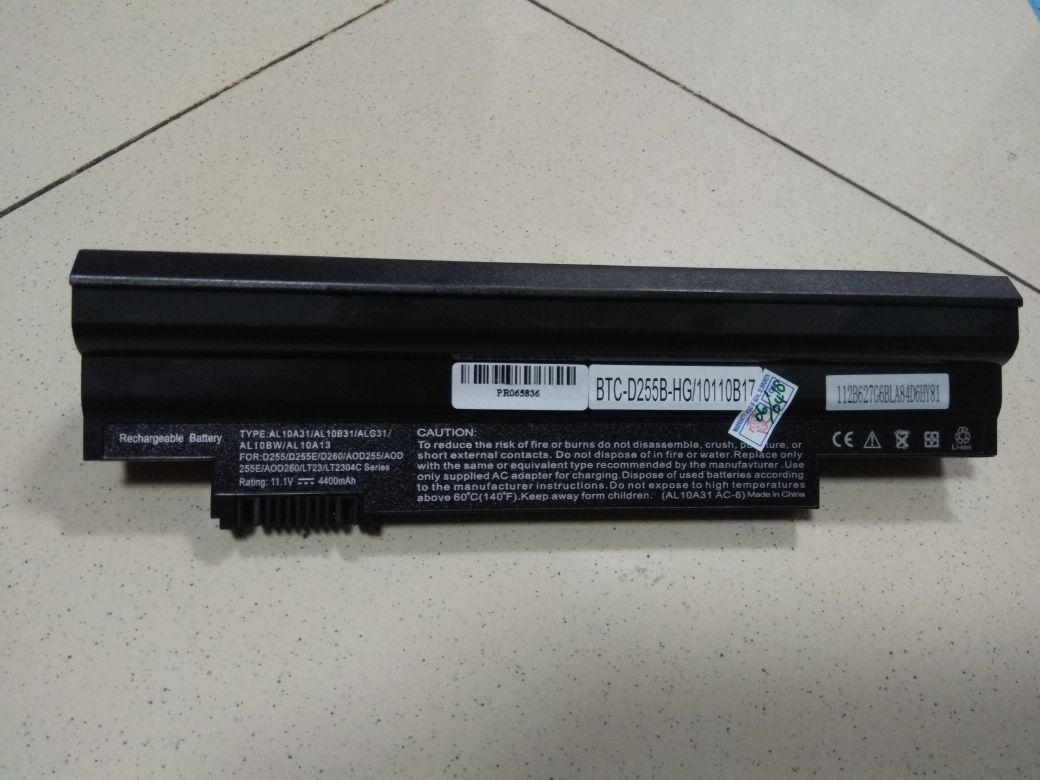 ACER Battery Laptop Aspire One D255 D260 722 D257 D270 AOD255 AOD257 AOD260 AO257 Black