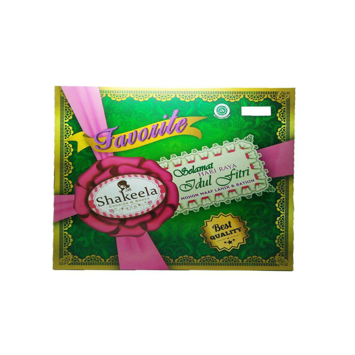 Paket Parcel Kue Lebaran Bellarosa Deluxe Hijau Daftar Harga 6in1 Berkah Platinum Kering Belarosa Cemilan Idul Fitri Gambar Produk Rinci Shakeela Favorite Halal Terkini