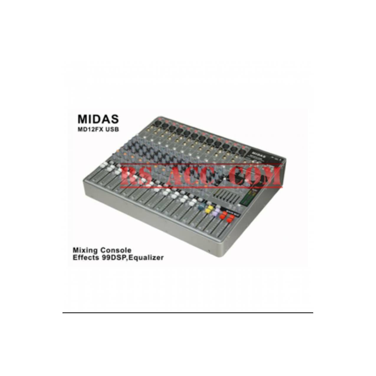 Murah !!! Mixer Midas Md12fx