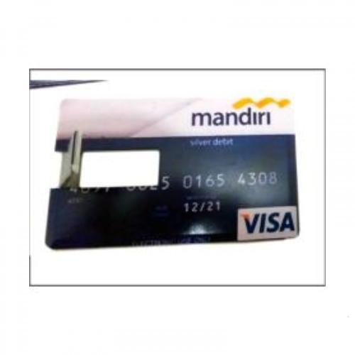 Flashdisk Model Kartu ATM Bank Mandiri - 8 GB