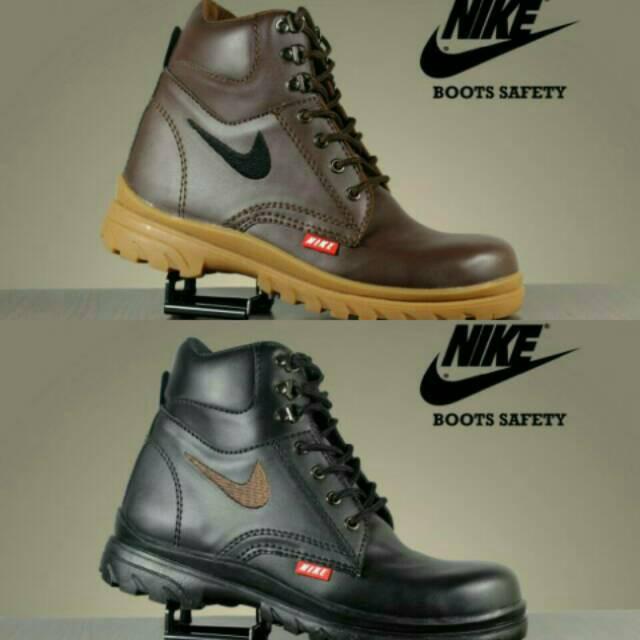 Sepatu Nike Boots Safety Winner Boot Steel Toe Worksafe Casual Sneakers Murah Pria